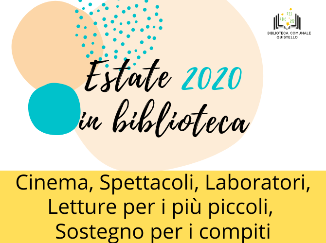 Estate 2020 in Biblioteca